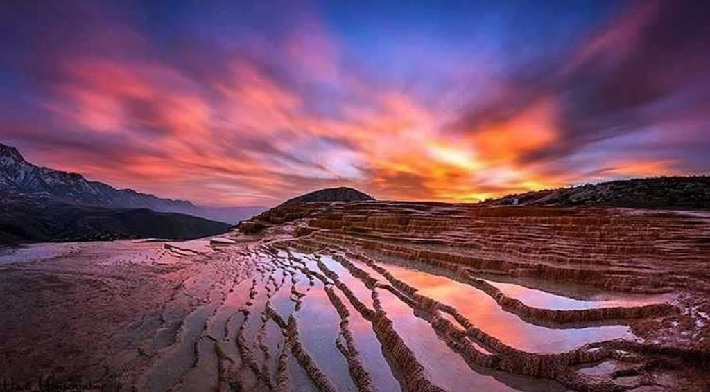 Fall in Love With Badab-e Surt, Terraced Hot Springs